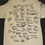Signed shirt (back)