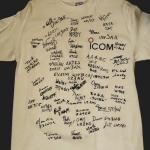 Signed shirt (back)
